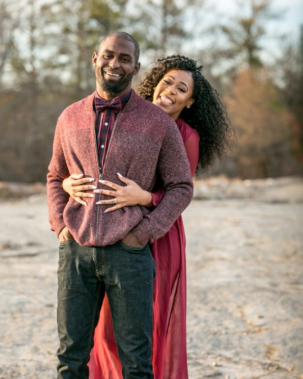 KD174072-595x744 Atlanta, GA Outdoor Engagement Shoot