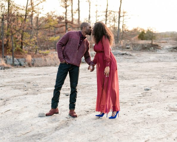 KD174171-595x476 Atlanta, GA Outdoor Engagement Shoot