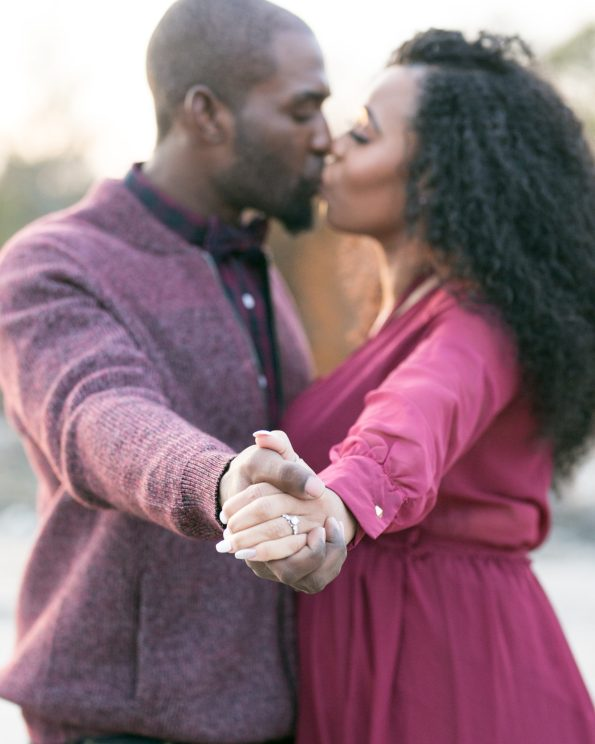 KD174241-595x744 Atlanta, GA Outdoor Engagement Shoot