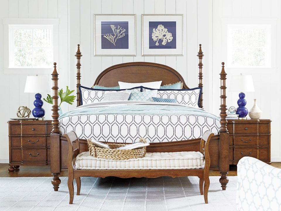 5 Tips for Classic Southern Bedroom Style from LuxeDecor