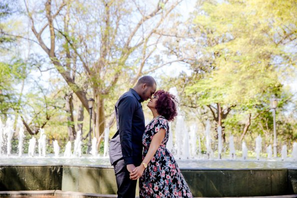 JoabCrystal-Engaged-24-595x397 Hometown Columbia, SC Engagement Session