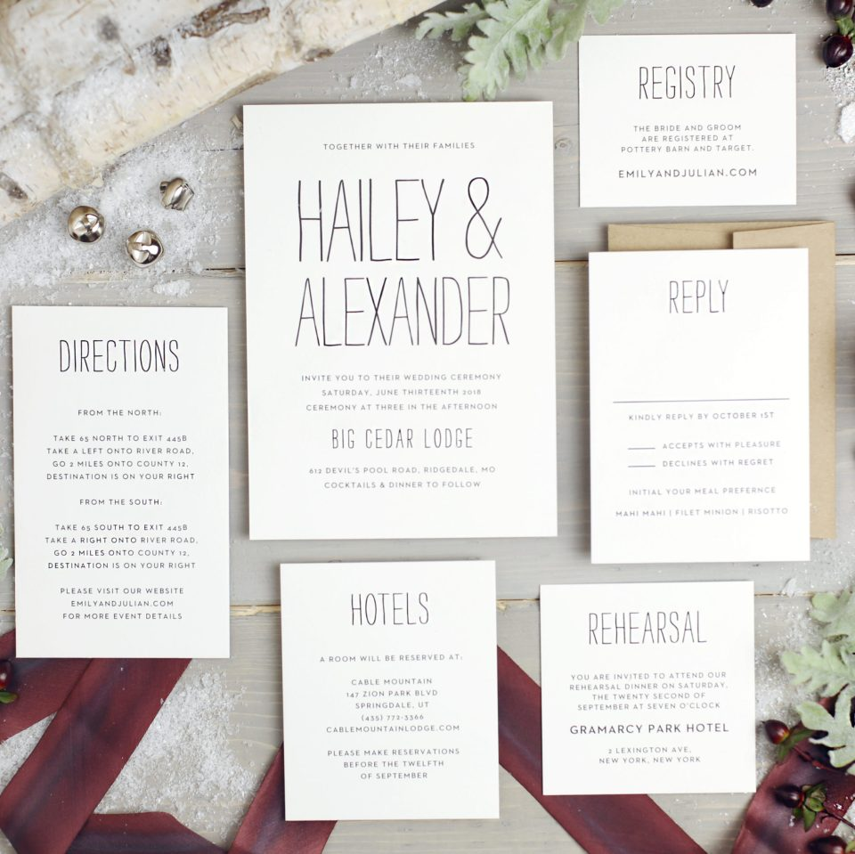 5 Tips for Choosing Your Wedding Stationery Powered by Basic Invite