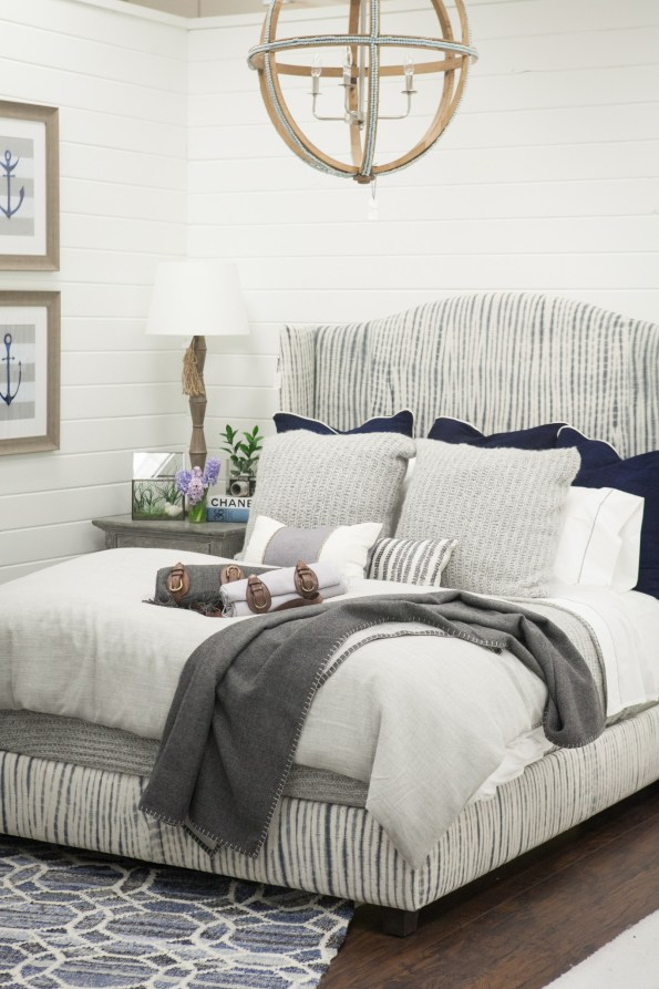 African_Stripe_Indigo_Organic_Cotton_Bed-2-595x893 5 Perfect Pieces for Coastal Inspired Decor from Imagine Home