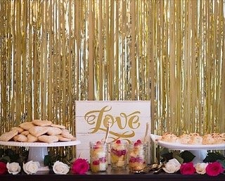 GlamDessertTable DIY Wedding Desserts from Jem of the South