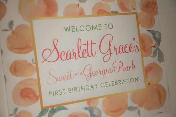 SG-First-Birthday-35-595x397 How to Plan a Southern Baby Party with Georgia Peach Style