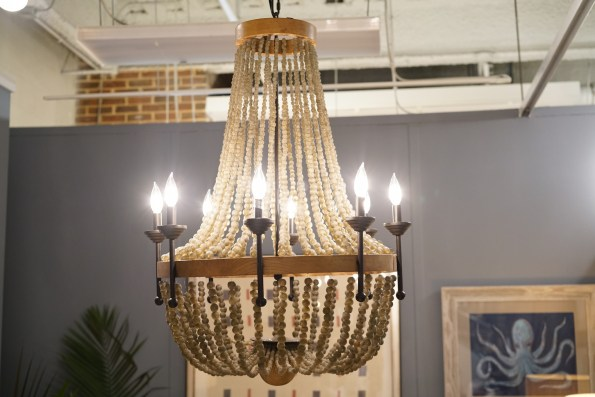 Smoke_African_Bead_Chandelier-595x397 5 Perfect Pieces for Coastal Inspired Decor from Imagine Home