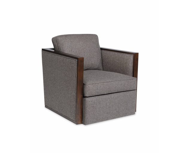 Vance-Swivel-Chair-595x513 Newlywed Neutral, Menswear Inspired Furniture from Taylor King