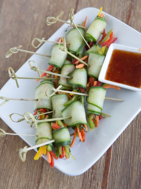 Cucumber-Spi-Roll-1-480x640 3 Appetizers Perfect for Summer Networking