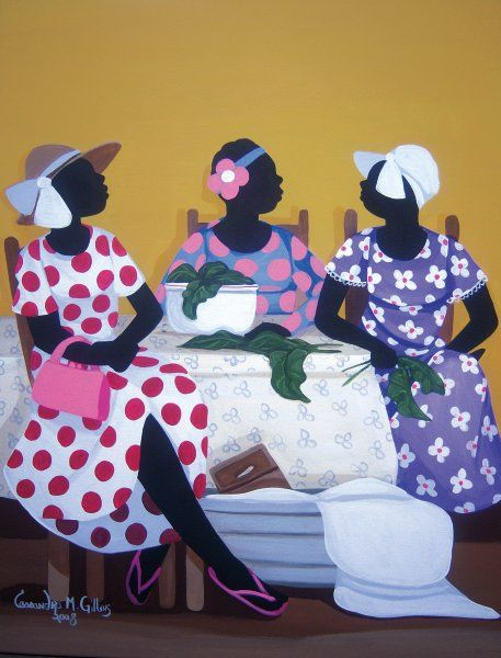 Gossip-over-Collard-Greens 20 Images of Black Art We Love