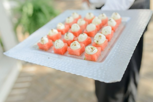 Watermelon-Cubes-1-595x397 3 Appetizers Perfect for Summer Networking
