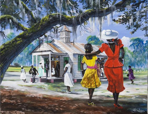frican_American_Church_Art2 Girls Trip: 20 Favorite African American Girlfriend Getaways From the Past