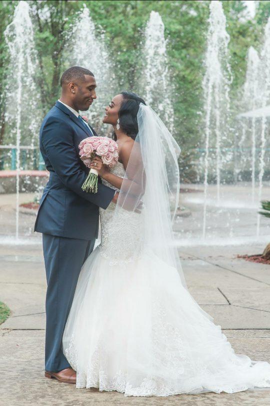 4-1 Pretty in Pink Hattiesburg, Mississippi Wedding