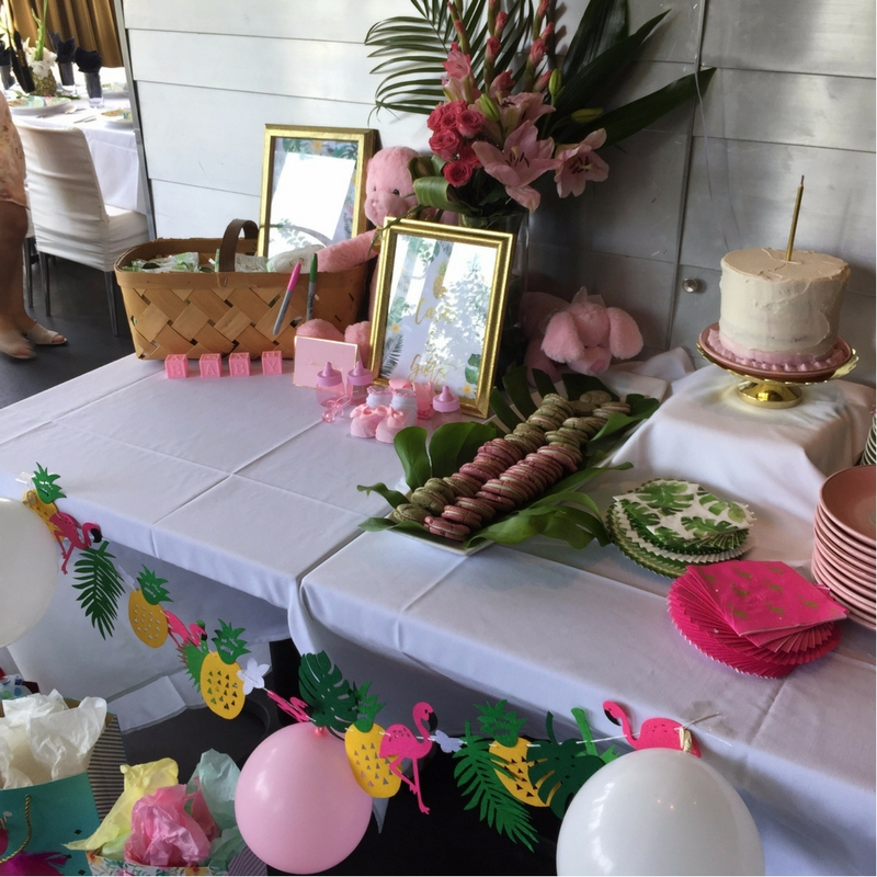 4-4 Tropical Inspired  Baby Shower -  5 Tips for Creating a Coastal ChicA�Inspired Party