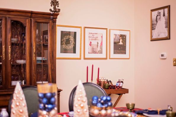 DSC_9305-595x397 How to Use Art With Your Holiday Entertaining Decor Powered by Framebridge