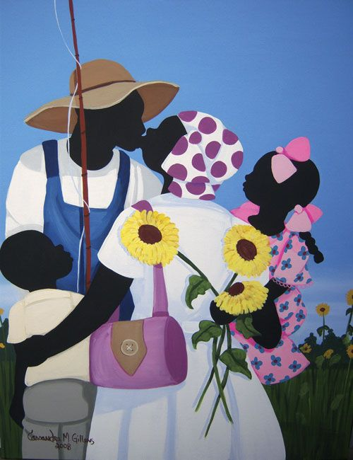 Gullah_Art_Cassandra_Gillens 16 Pieces of Gullah Art to Add Your Gallery Wall