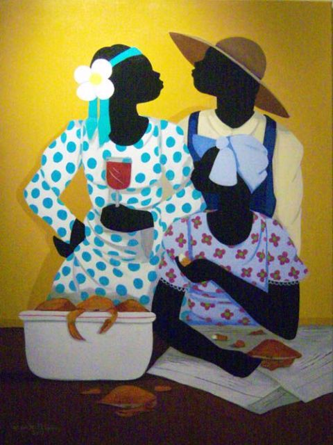 Gullah_Art_Cassandra_Gillens_3-480x640 16 Pieces of Gullah Art to Add Your Gallery Wall