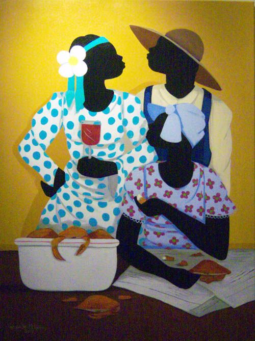 Gullah_Art_Cassandra_Gillens_3 16 Pieces of Gullah Art to Add Your Gallery Wall
