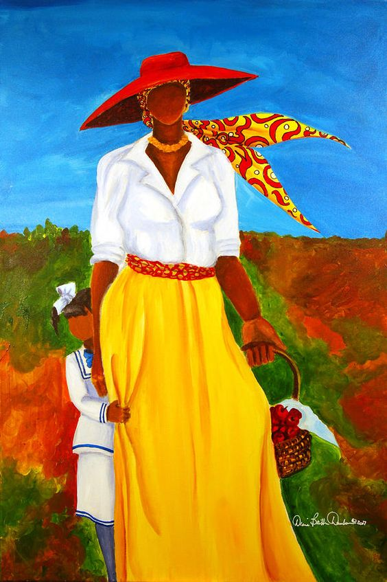 Gullah_Art_Diane_B_Dunham 16 Pieces of Gullah Art to Add Your Gallery Wall