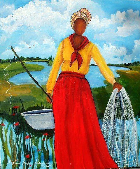 Gullah_Art_Diane_B_Dunham_2 16 Pieces of Gullah Art to Add Your Gallery Wall