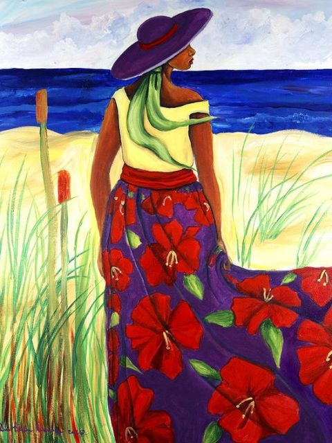 Gullah_Art_Diane_B_Dunham_3-480x640 16 Pieces of Gullah Art to Add Your Gallery Wall