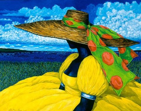 Gullah_Art_Jonathan_Green-480x377 16 Pieces of Gullah Art to Add Your Gallery Wall