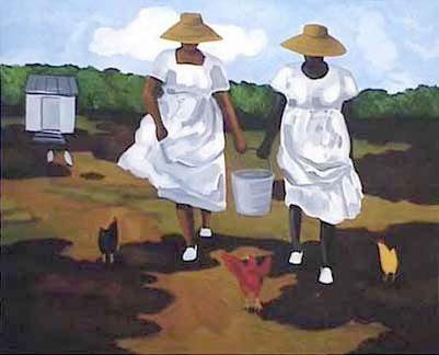 0d916db849301e3352d68d1cf38839f2 16 Images of Black Sisterhood Through Gullah Art