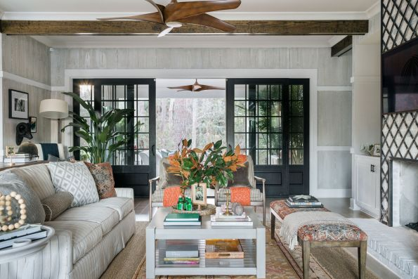 HGTV-Smart-Home-2018-Great-Room-Porch-Doors-595x397 HGTV Smart Home Tour - Palmetto Bluff