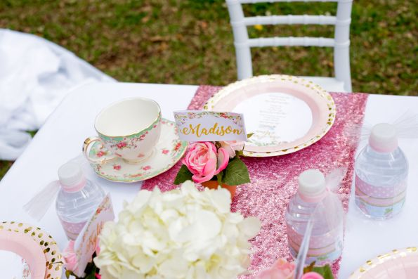 TeaParty-14-595x397 Children's Tea Party Inspiration - How to Plan a Child's Party with a Photographer