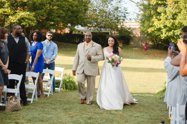 AbreaCrackel_20-595x397 Pink and Blush Southern Wedding Inspiration