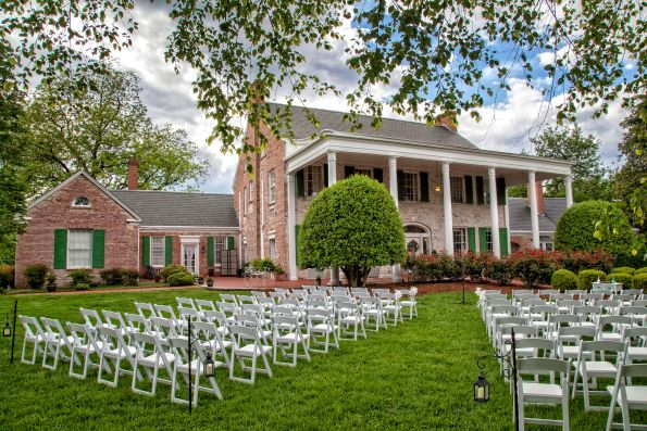 Penn-House-Outdoor-Setup-small-595x397 Southern Wedding Inspiration in Reidsville, NC