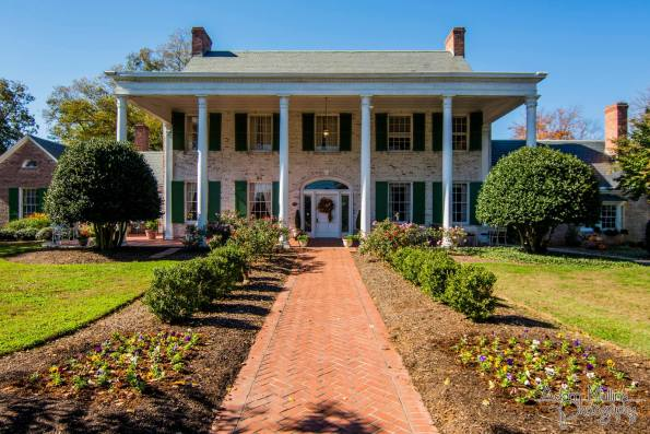 Penn-house-Front-Side-595x397 Southern Wedding Inspiration in Reidsville, NC