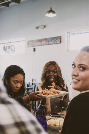 TTE-PaellaParadise-7291-300x450 North Carolina Seafood: Paella Paradise with The Table Experience