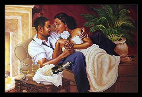 Black Art from Katherine Roundtree We Love - Black ... African American Love Pictures