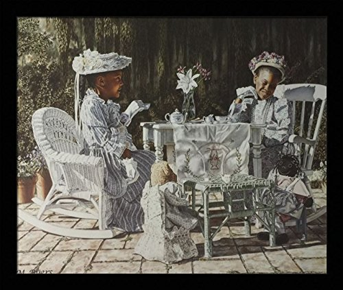 US-Art-Tea-Party-Victorian-Girls-M.Byers- Black Family Art Pieces to Add to Your Home