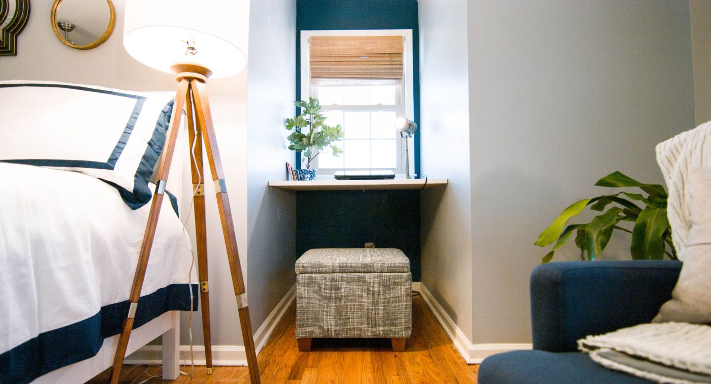 GoodBed-4-of-5 Designing on a Dime : Before and After Master Bedroom Tour