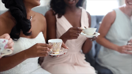 4 Tips for Hosting a Bridal Suite Tea from Miss Priss Tea