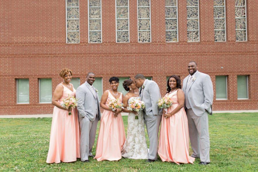 Modern, Southern Wedding Style in Durham, NC