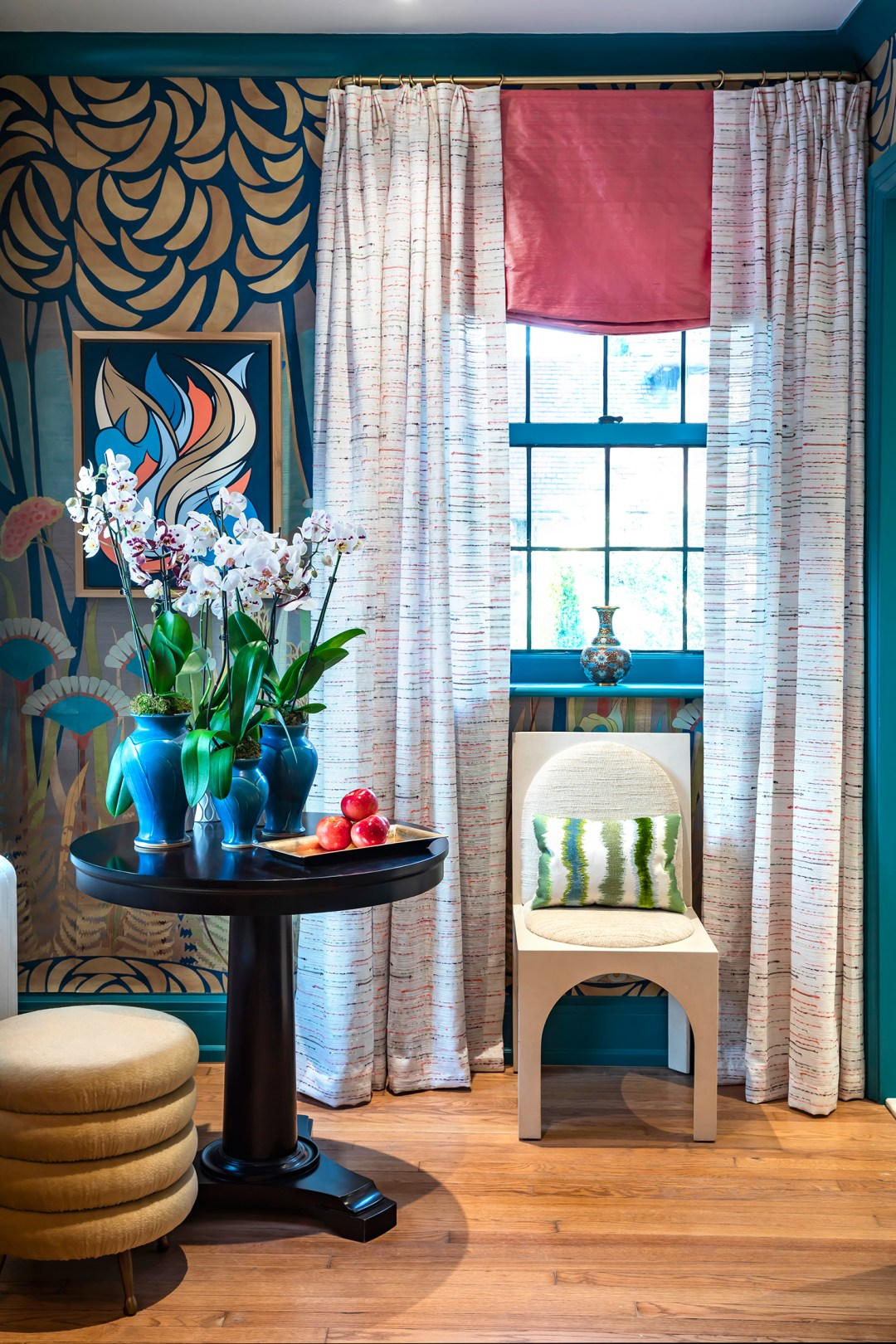 Courtney-McLeod-RMLID-JL-Showhouse_07 Tips for Adding Color and Pattern to a Room from a Louisiana Native