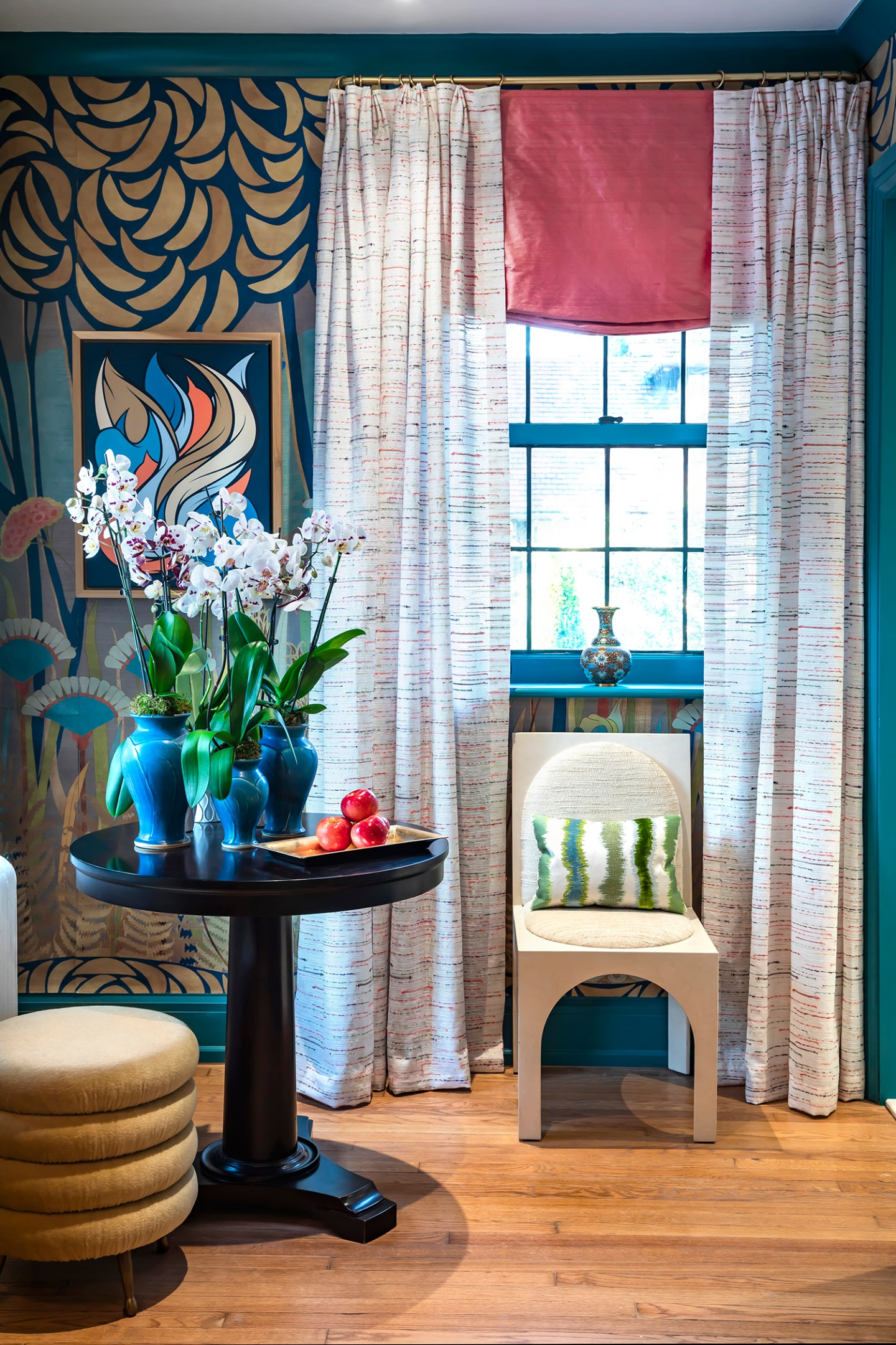 Courtney-McLeod-RMLID-JL-Showhouse_07 Tips for Adding Color and Pattern to a Roomfrom a Louisiana Native