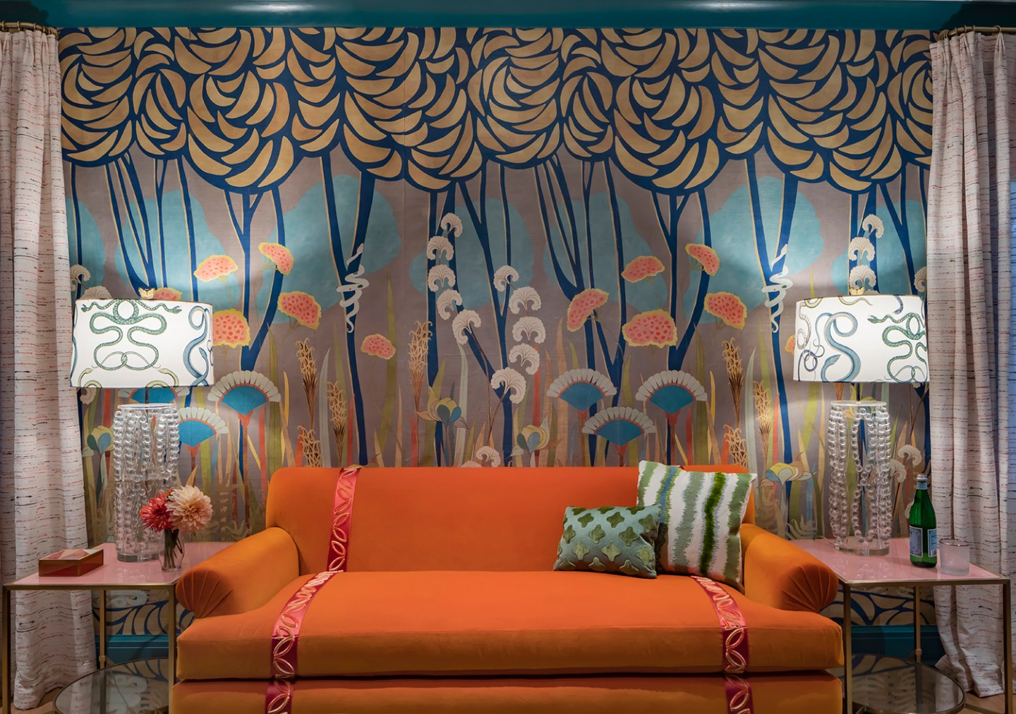 Courtney-McLeod-RMLID-JL-Showhouse_23 Tips for Adding Color and Pattern to a Roomfrom a Louisiana Native