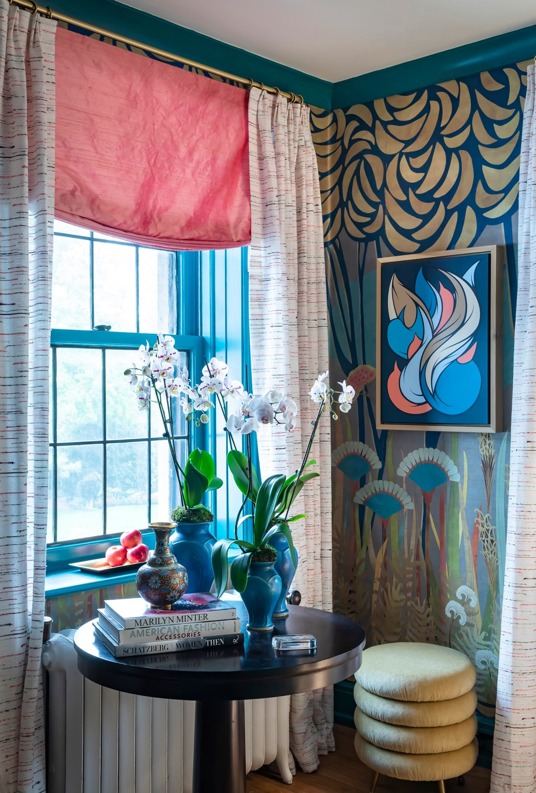 Courtney-McLeod-RMLID-JL-Showhouse_27 Tips for Adding Color and Pattern to a Room from a Louisiana Native
