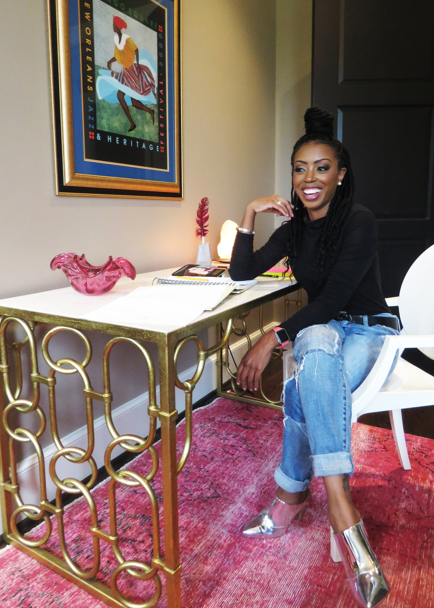 Melissa-Jeans Southern Fashion Inspiration from a Texas Style Maven and HBCU Alum