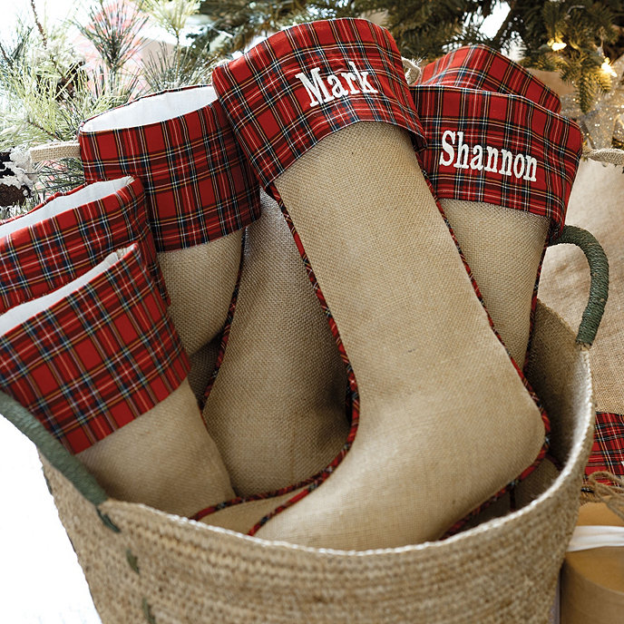 Plaid_Stocking Traditional Holiday Stockings You Must Add to Your Home