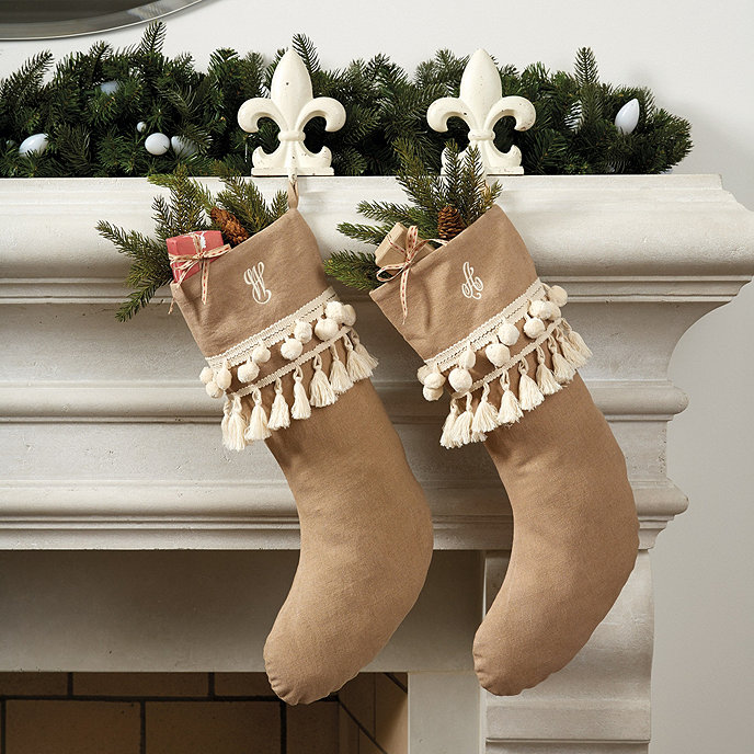 Tan_Christmas_Stocking Traditional Holiday Stockings You Must Add to Your Home