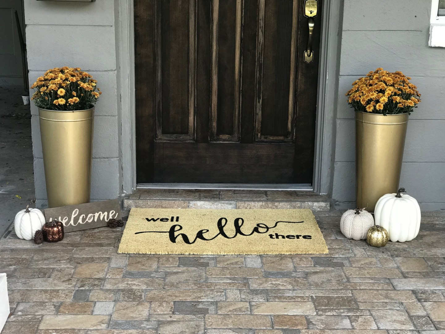 image1 Tips for Styling Your Front Porch for Fall from a Jacksonville, FL Designer