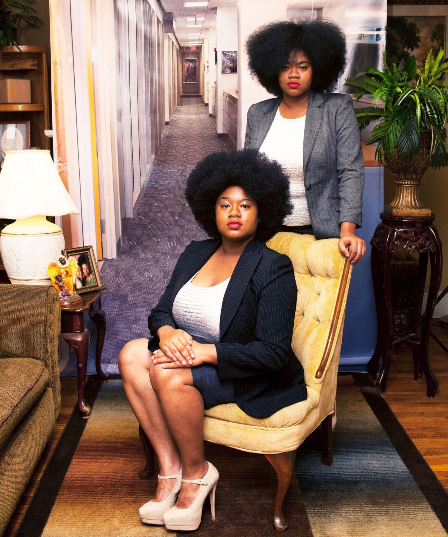 Endia-AM-I-WHAT-YOURE-LOOKING-FOR-SABRINA-AND-KATRINA-2015-1 10 Southern Black Women Artists to Watch from Expert Curator Jonell Logan