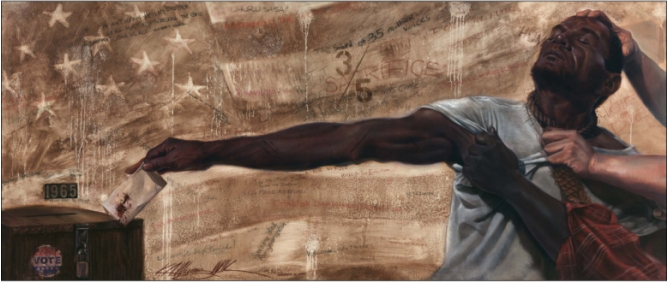 KevinWakWilliams The Black Vote: A Look Through Art and Elections