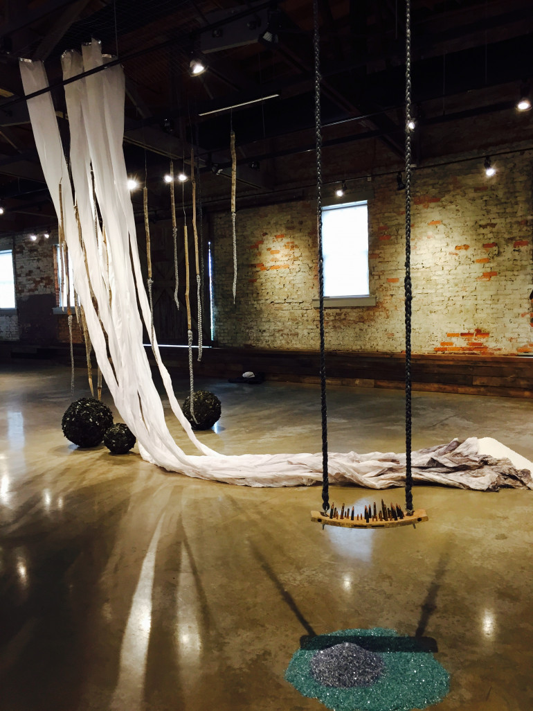 Michaela-BATTLE-TOMORROW-2015-mixed-media-installation-1 10 Southern Black Women Artists to Watch from Expert Curator Jonell Logan