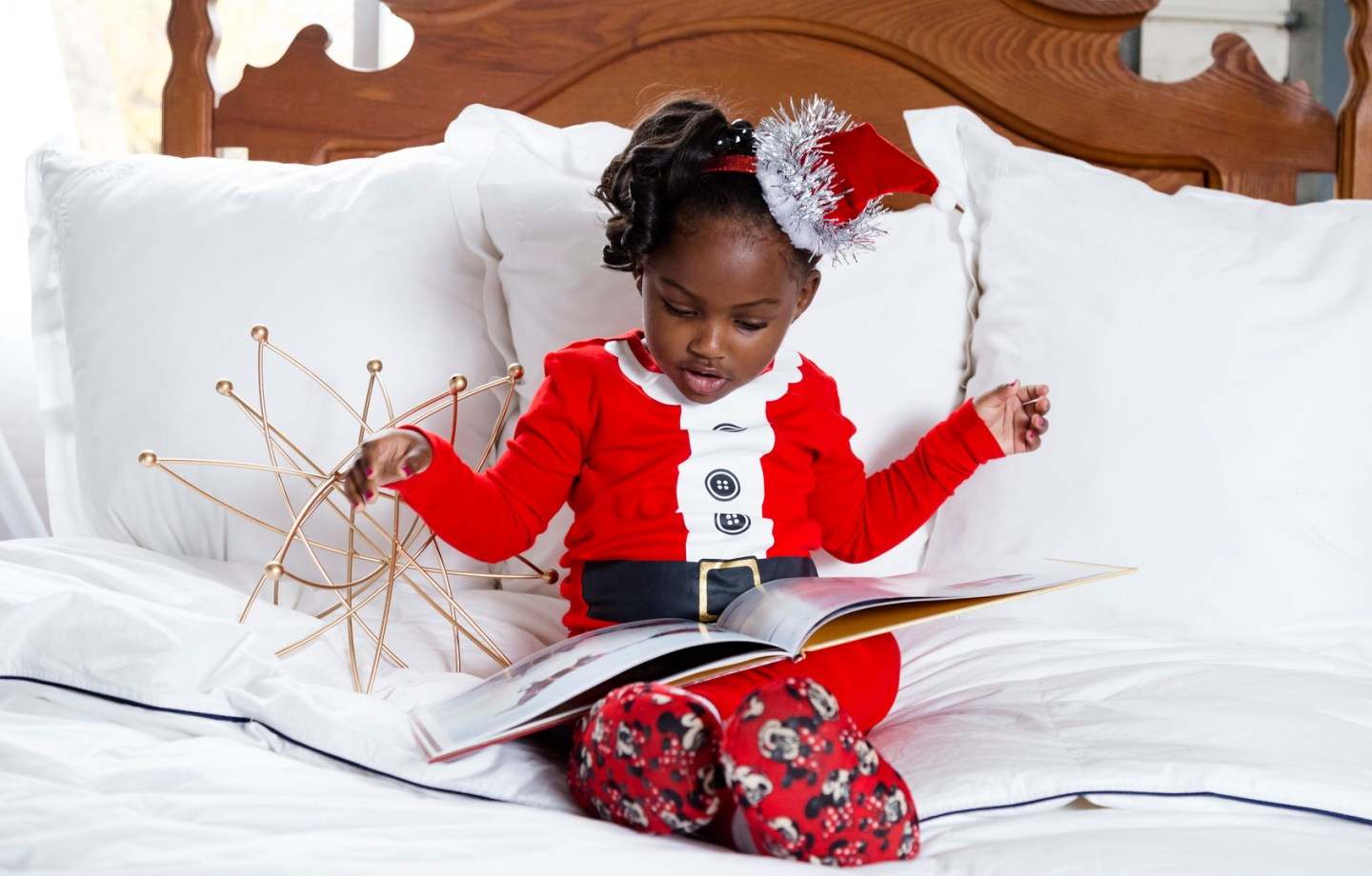 ttkqw1o3oi1mbmufq181_big Mommy & Me Christmas PJ Session in Greensboro, NC
