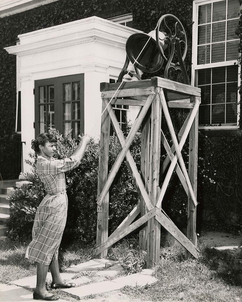 Bennett_College_bell_1956 HBCU Spotlight: Belles of Bennett College from the Past